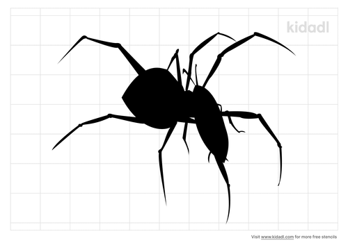 spider-eating-cricket-stencil