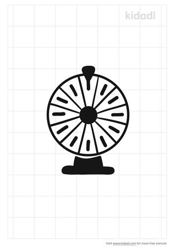 spinning-wheel-stencil