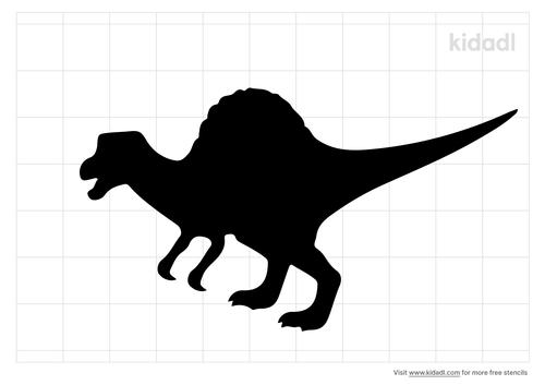 spinosaurus-stencil