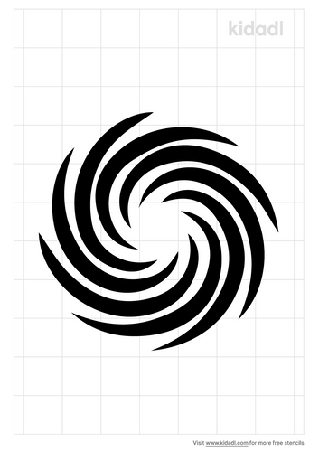 spiral-stencil