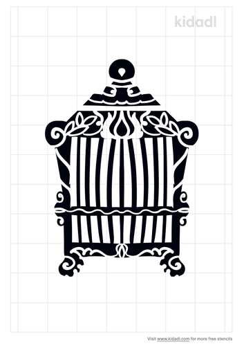 square-cage-stencil