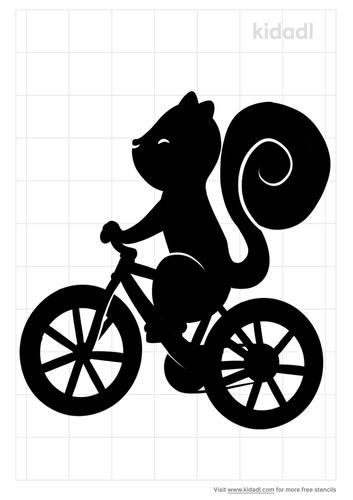 squirrel-on-bike-like-a-boss-stencil