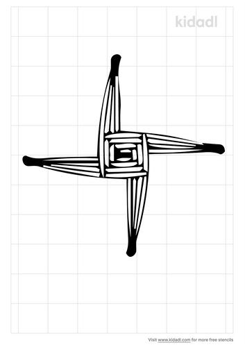 st-bridget-s-cross-stencil