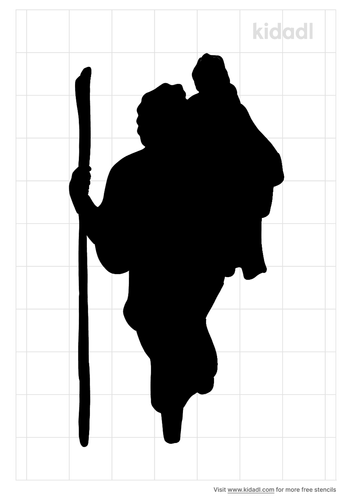 st-christopher-stencil.png