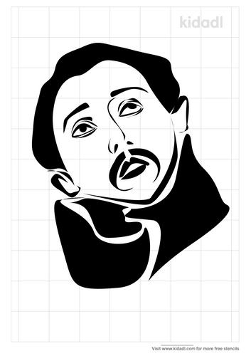 st-francis-stencil