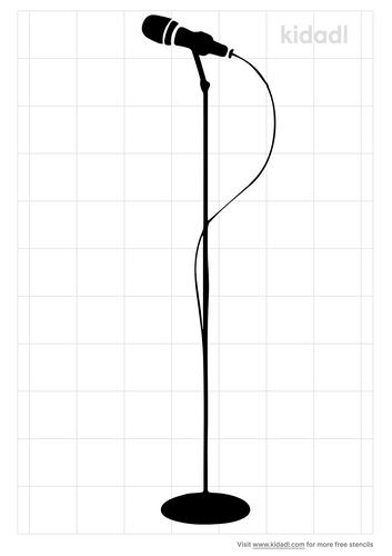 stand-mic-stencil