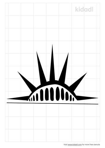 statue-of-liberty-crown-stencil