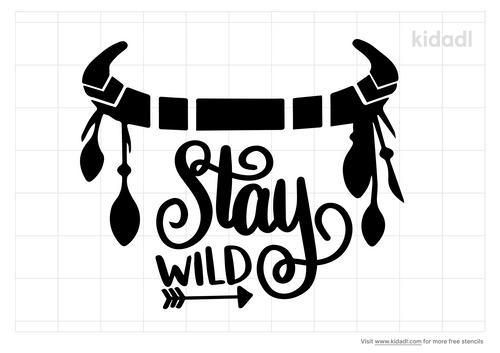 stay-wild-stencil