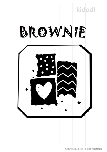 stencil-on-brownie-stencil-coloring-page.png