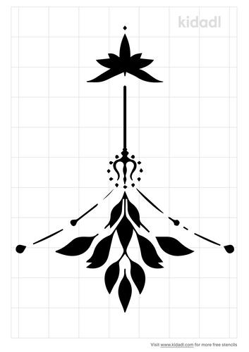 sternum-stencil