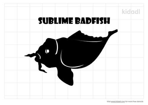 sublime-badfish-stencil