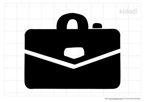 suitcase-stencil