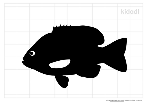 sunfish-stencil