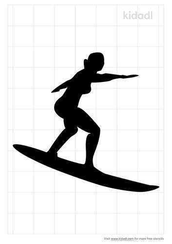 surfer-girl-stencil