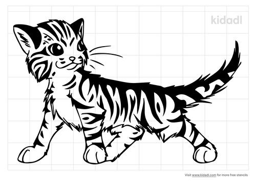 tabby-cat-stencil-stencil