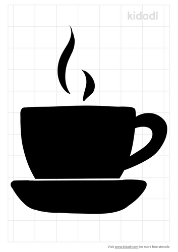tea-cup-and-saucer-stencil