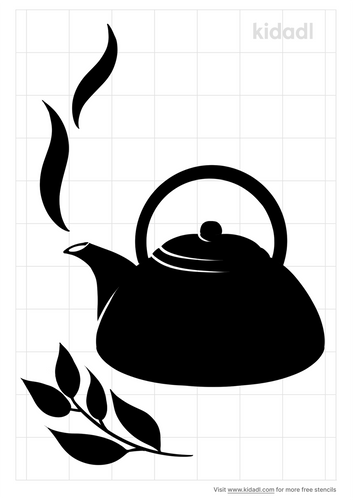 tea-stencil