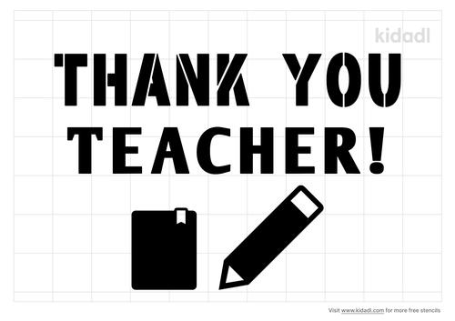 teacher-thank-you-stencil