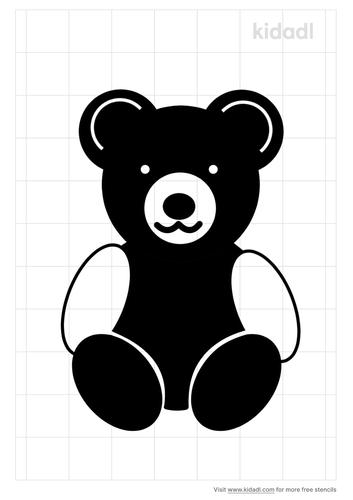 teddy-bear-stencil