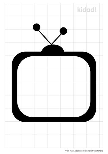 television-stencil