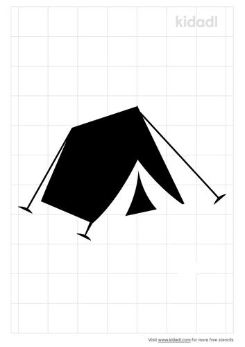 tent-stencil