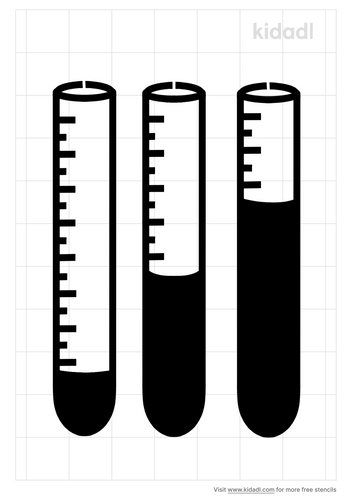 test-tubes-stencil