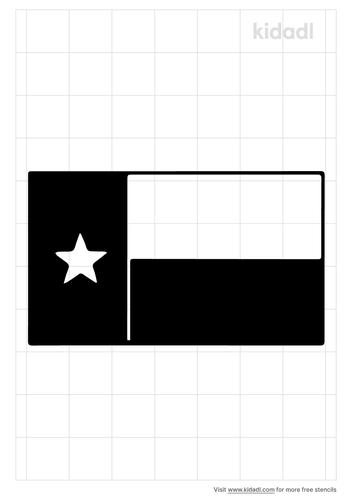 texas-flag-stencil