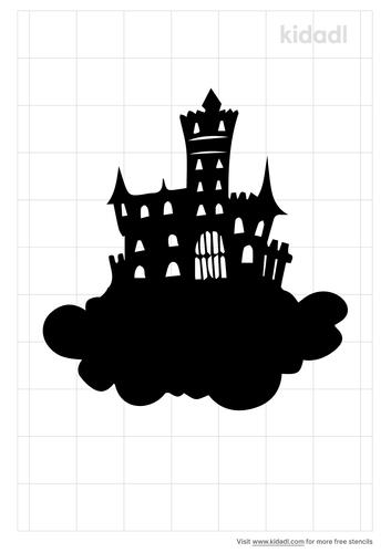 the-castle-in-the-sky-stencil