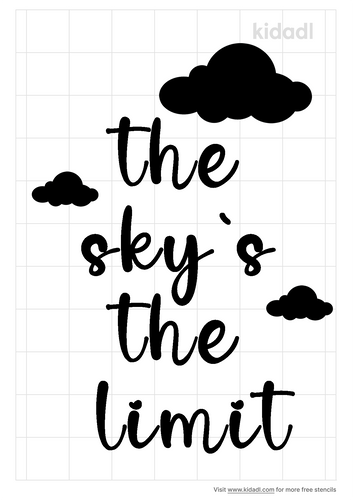 the-sky-s-the-limit-stencil