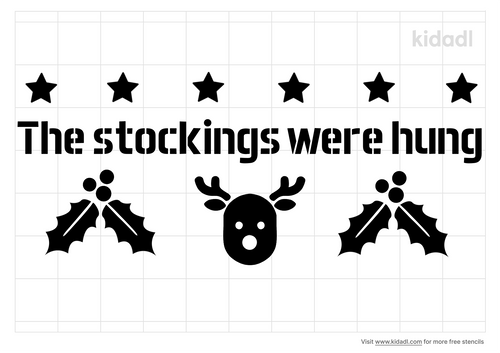 the-stocking-were-hung-stencil