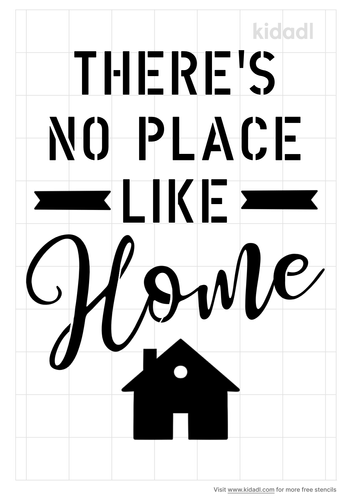 there-s-no-place-like-home-stencil