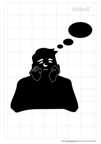 thinking-man-stencil