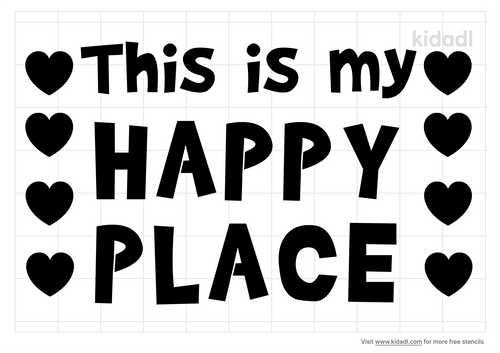 this-is-my-happy-place-stencil
