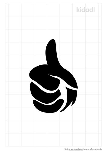 thumb-up-stencil