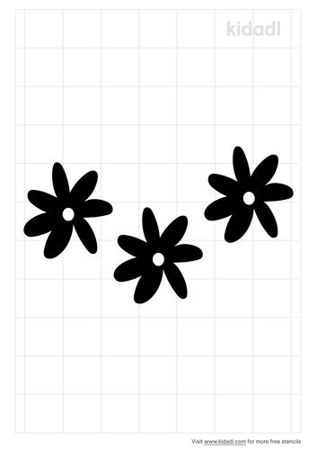 tiare-flower-stencil