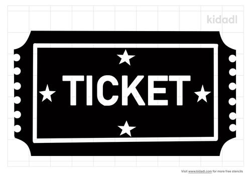 ticket-stencil