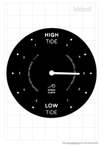 tide-clock-stencil