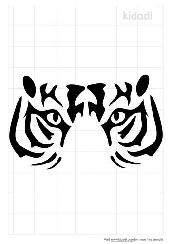 tiger-eye-stencil