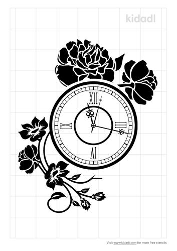 timepiece-stencil