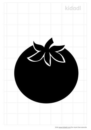 tomato-stencil