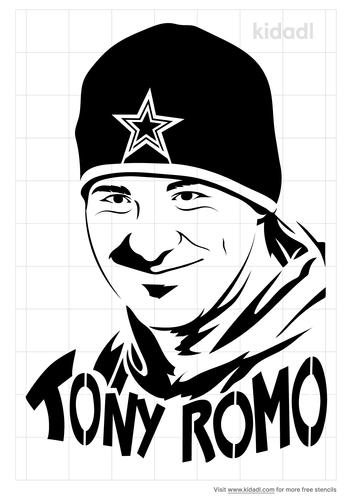 tony-romo-stencil