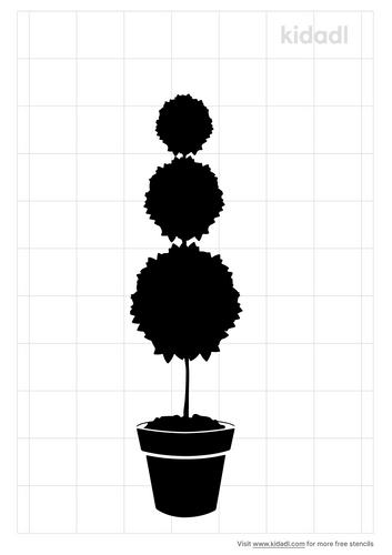 topiary-stencil