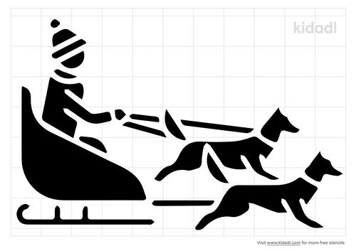 toreador-dogsled-stencil