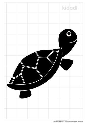 tortoies-stencil