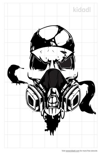 toxic-skull-stencils