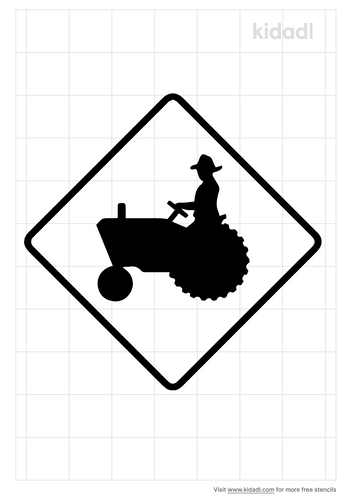 tractor-symbol-for-road-sign
