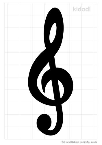 treble-clef-stencil