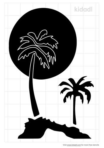 tree-and-moon-stencil