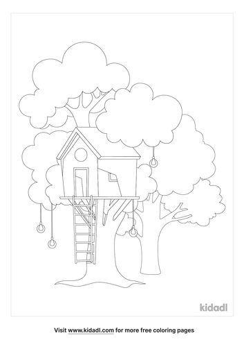 treehouse-coloring-page