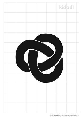 trefoil-stencil